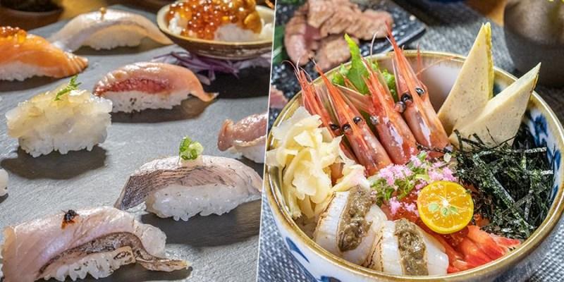 梨壽司(高雄)岡山超隱藏日本料理店!人氣必吃12貫握壽司定食,無敵浮誇甜蝦干貝蟹膏丼