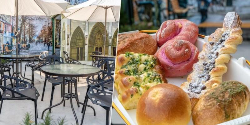 日光巴黎 美術館店(高雄)戶外景觀麵包甜點店!新推出爆醬乳酪蒜法國,下午茶搭配精品咖啡最滿足