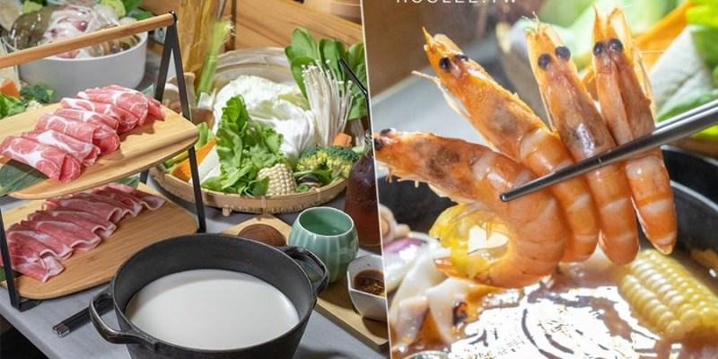 樂未秧農夫市集鍋物(高雄)復古風大菜盤!雙層肉肉與超濃豆漿鍋,海鮮控必點海底總動員