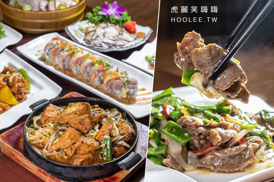 参伍海鮮炭烤(高雄)夜貓子宵夜食堂!超殺百元熱炒料理,推薦鐵板豆腐和蔥爆牛肉