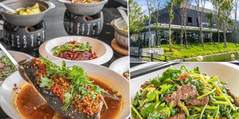 有你真好湘菜沙龍(高雄)玻璃窗綠景餐廳!無辣不歡湖南料理,必點野山椒牛肉及霸王剁椒魚頭