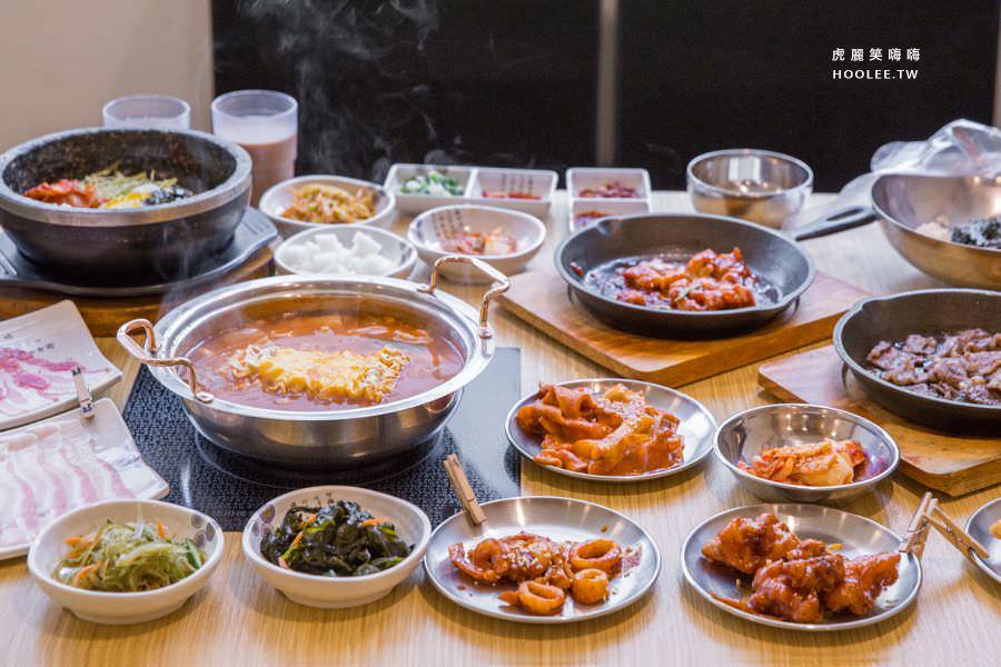 槿韓食堂太極鍋(高雄)2樓火鍋吃到飽,超犯規!22種韓式料理無限續