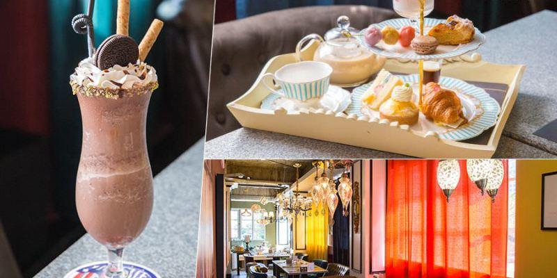 CaféAL 咖啡阿拉丁神燈(高雄)超夢幻聚餐美店,約會必訪!甜蜜雙層下午茶與義大利麵