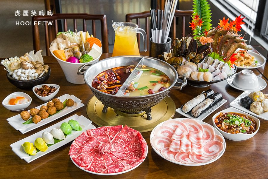 牛園火鍋 安平店(台南)麻辣酸白菜鴛鴦鍋,聚餐推薦!香米滑蛋瘦肉粥水果免費續