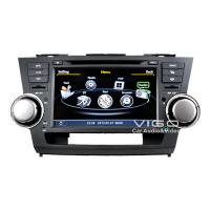 Car Stereo Headunit Multimedia Sat Nav DVD For Toyota