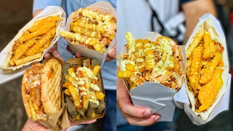 【台中美食】忠孝夜市美食推薦『土耳其卡霸捲』帶你品嚐道地的土耳其美味料理!