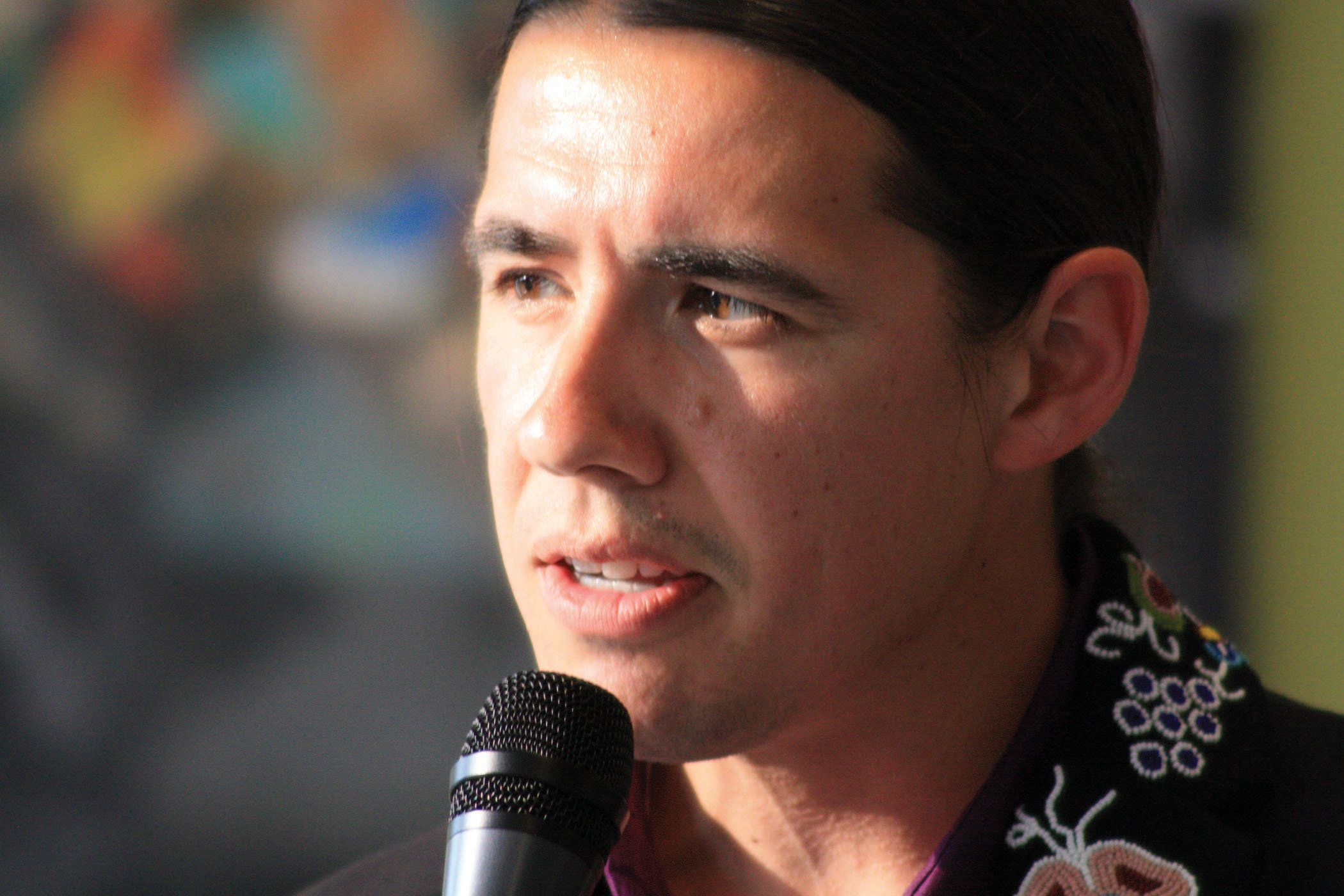 "<span class='image-component__caption' itemprop=""caption"">Robert Falcon-Ouellette is challenging NDP incumbent Pat Martin in inner-city Winnipeg, Manitoba.</span>"