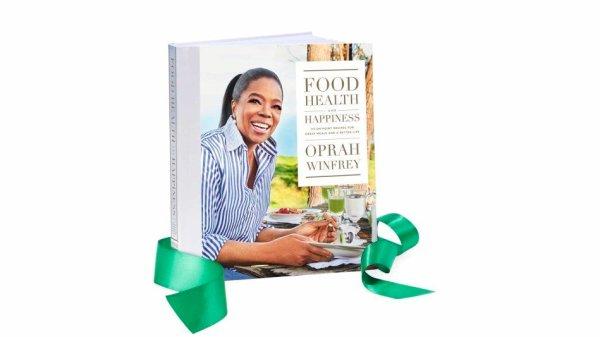 Oprah's new cookbook pre-order seen on Oprah's favorite things list