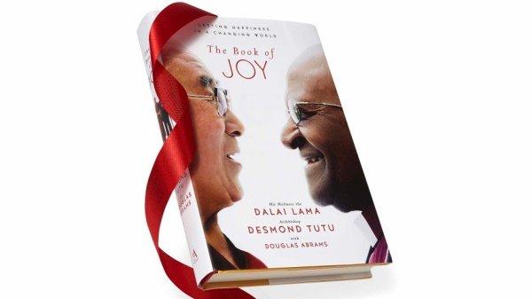The Book of Joy seen on Oprah's favorite things list