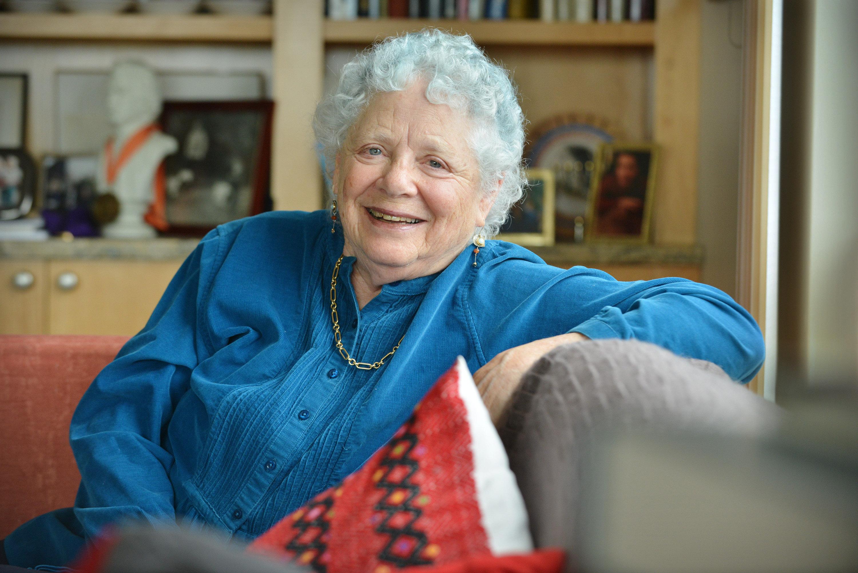 How Blue Hair Dye Is Helping This Grandma Age Gracefully