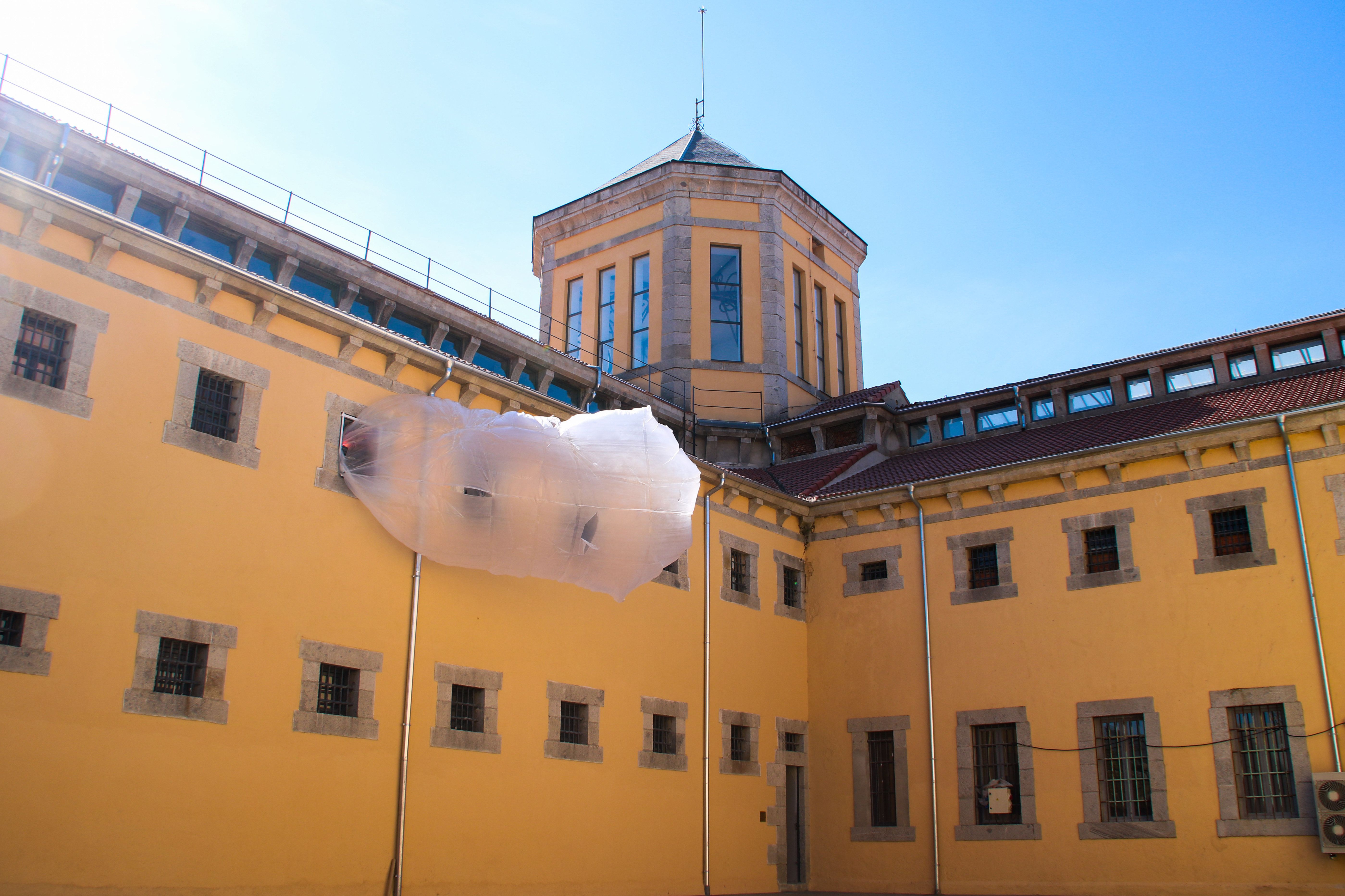 An Old Spanish Prison Is Now A Gorgeous Makeshift Art