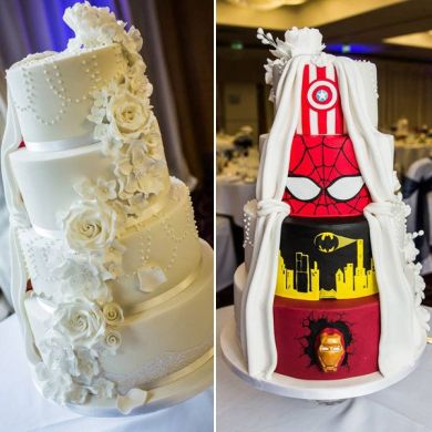 This Supremely Awesome Wedding Cake Will Make You Do A Double Take     Credit   a