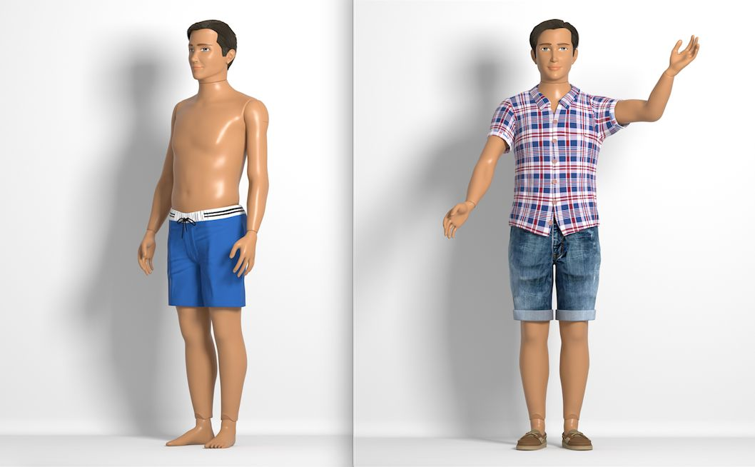 Normal Barbie Creator Introduces New Normal Ken Doll