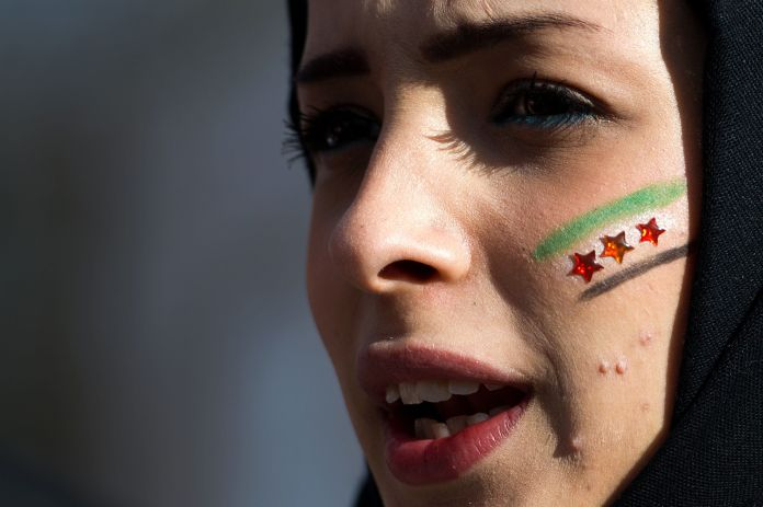 After Years Of Being Sidelined, Syrian Women Aim To Make History At Peace Talks After Years Of Being Sidelined, Syrian Women Aim To Make History At Peace Talks 56e9d3cf1e0000b3007046b4