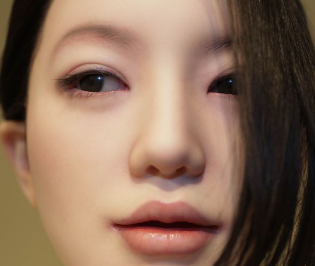 A Love Doll Is Exhibited At Vanilla Gallery On April   In Tokyo