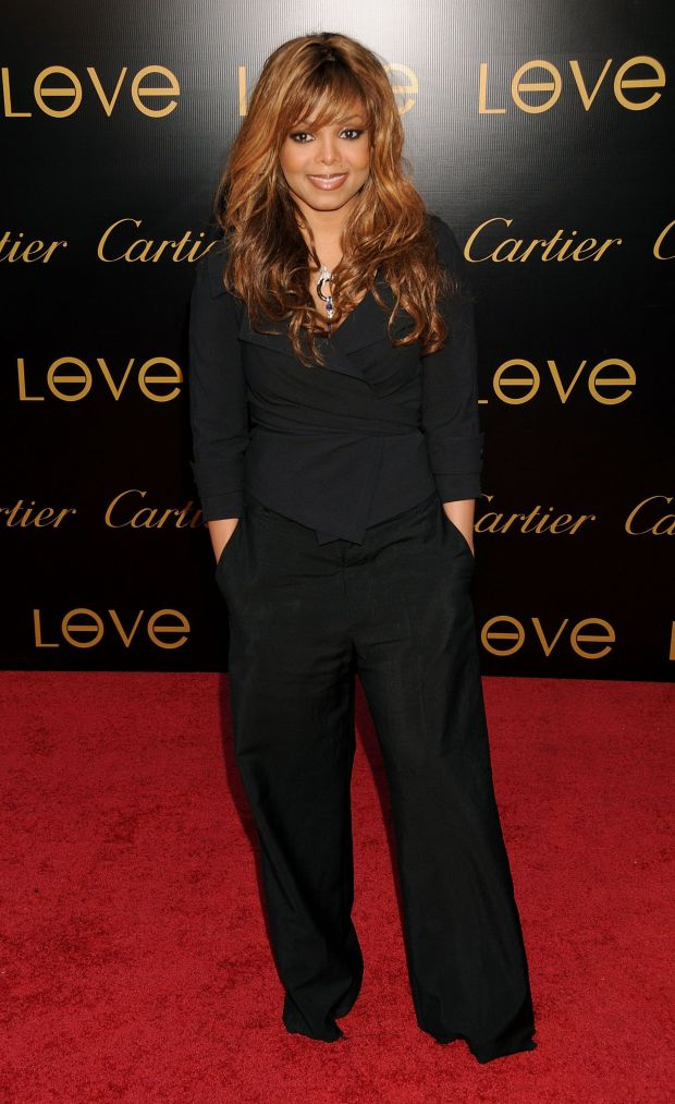 At the Cartier Charity love bracelet launch in Los Angeles.