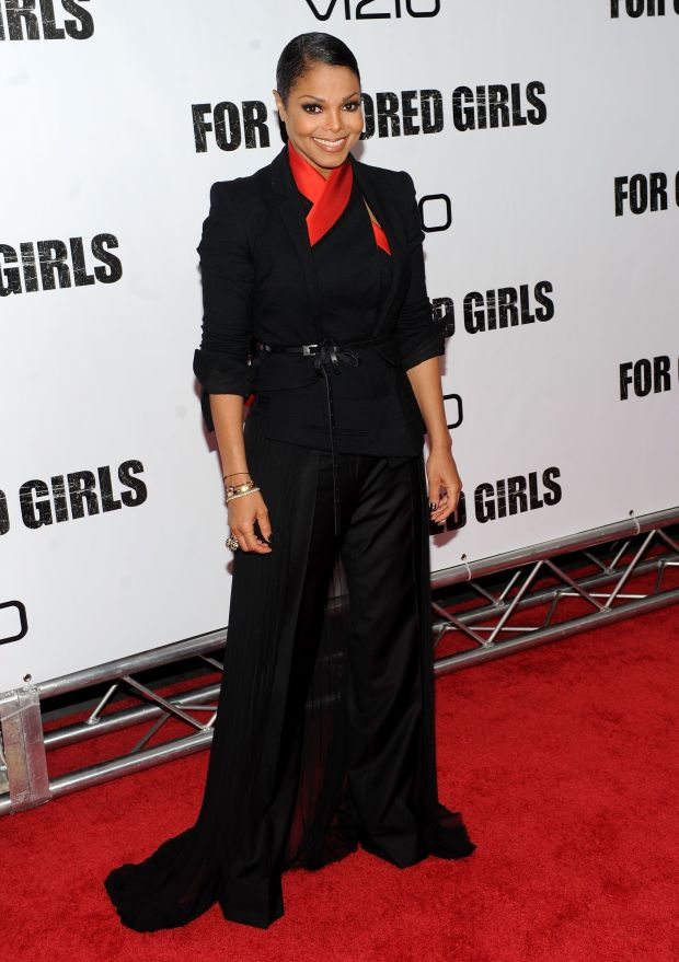 """Atthe premiere of """"For Colored Girls"""" at Ziegfeld Theatre in New York City."""