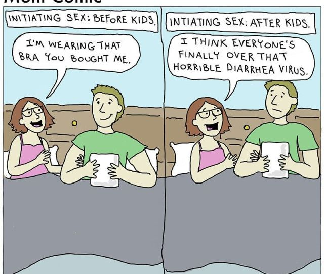 Hilarious Comics That Capture The Reality Of Sex After Kids Huffpost Life