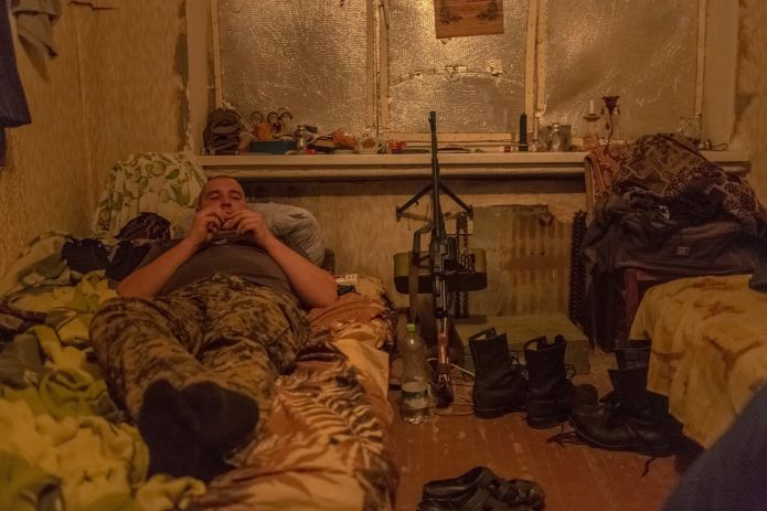 These Soldiers On Ukraine's Front Lines Are Starting To Doubt The War's Value These Soldiers On Ukraine's Front Lines Are Starting To Doubt The War's Value 58135b86150000e6025305bf