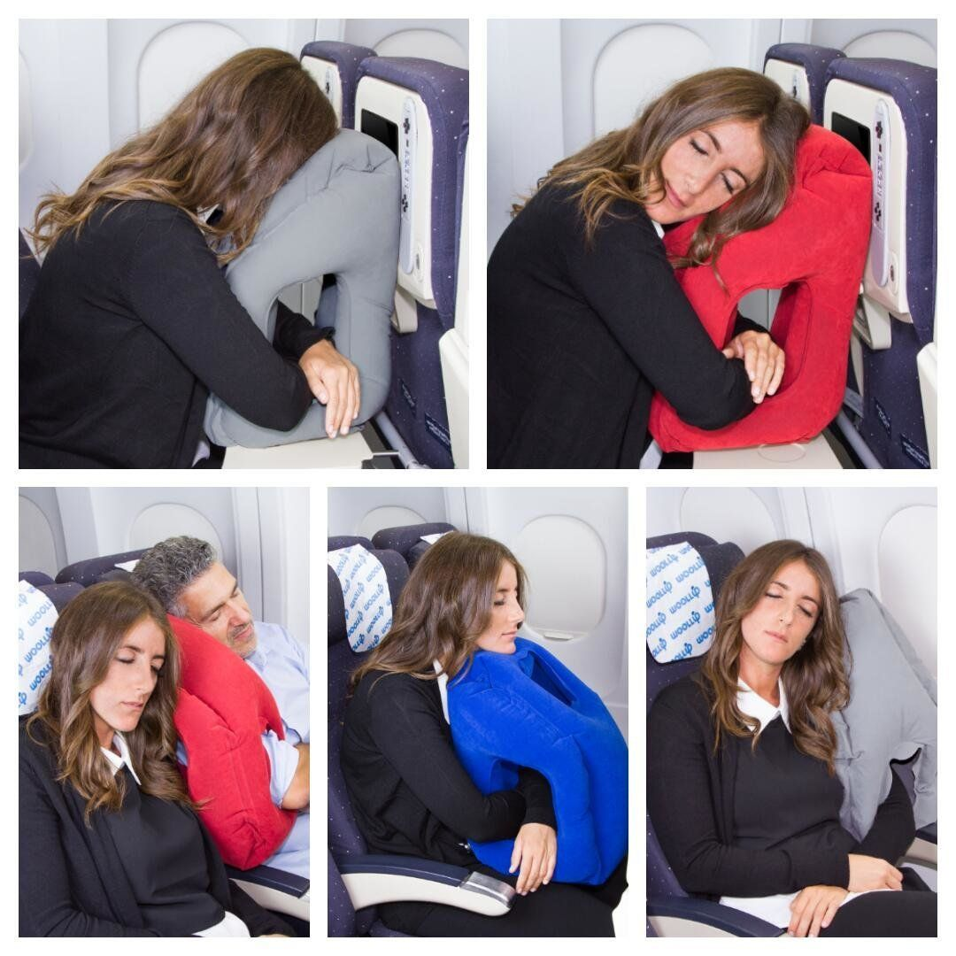 this travel pillow may be the end of