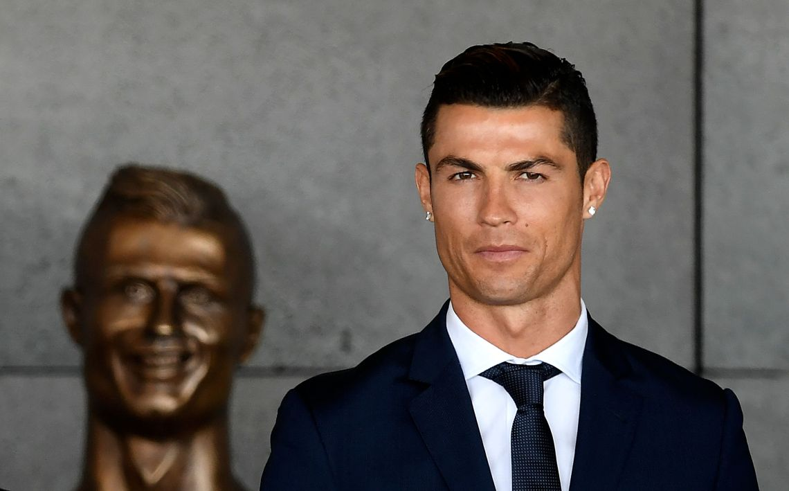Twitter Is Less Than Impressed With Madeira Airport's New Bust Of Cristiano Ronaldo