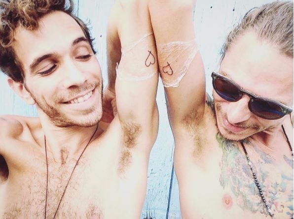 Why Couples Get Tattoos For Each Other -- And What Happens If They Break Up Why Couples Get Tattoos For Each Other — And What Happens If They Break Up 5993822f15000064908b6c58