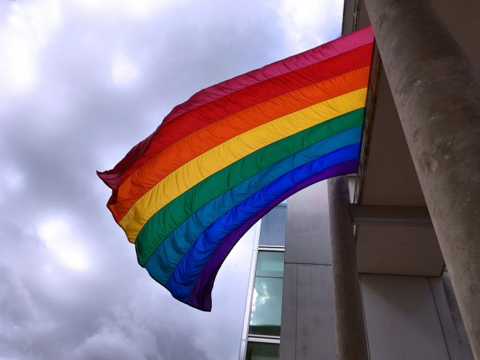 Parents, Students Throw A Fit Over Alabama High School's Pride Flag Parents, Students Throw A Fit Over Alabama High School's Pride Flag 599b15411e00002700c5e99e
