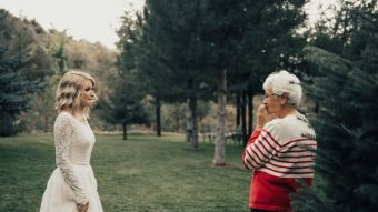 This Bride's Wedding Surprise For Her Grandma Will Bring You To Tears