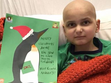 9 Year Old Cancer Patient Asks For Homemade Cards As Final