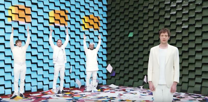 OK Go Makes Serious Paper With Hypnotizing New Music Video OK Go Makes Serious Paper With Hypnotizing New Music Video 5a1960df1400004b4b50f2aa