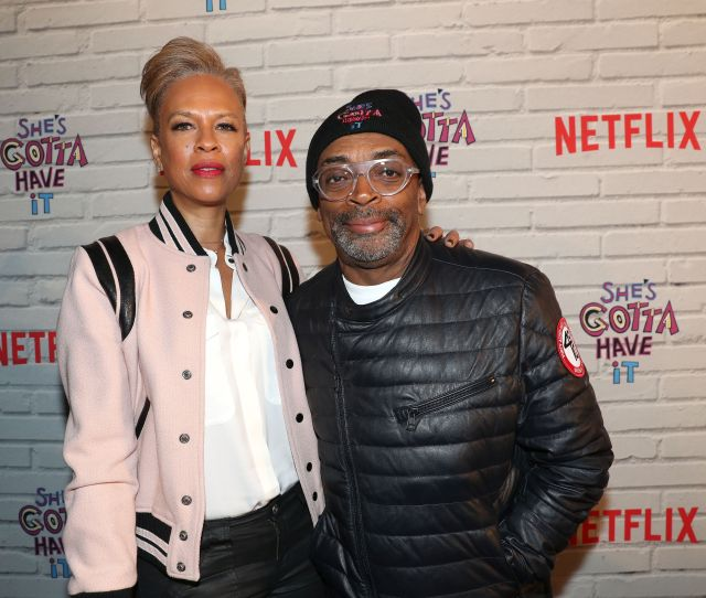 Executive Producer Tonya Lewis Lee And Spike Lee Attend The Premiere Of Shes Gotta Have