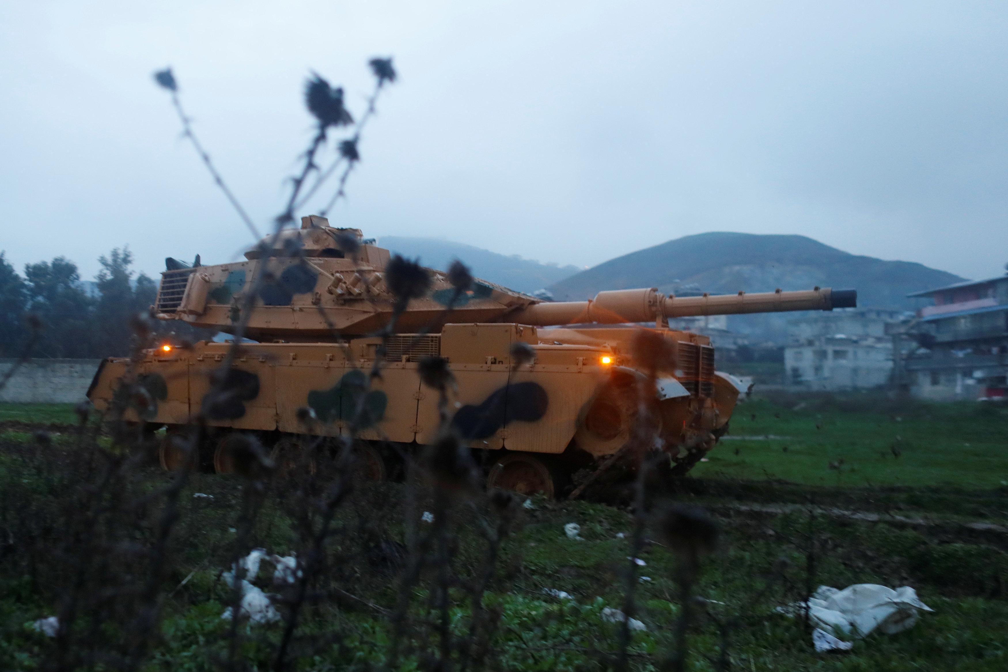 «Άμεση απάντηση» σε απειλές από τη δυτική Συρία υπόσχεται το τουρκικό Συμβούλιο Εθνικής Ασφαλείας
