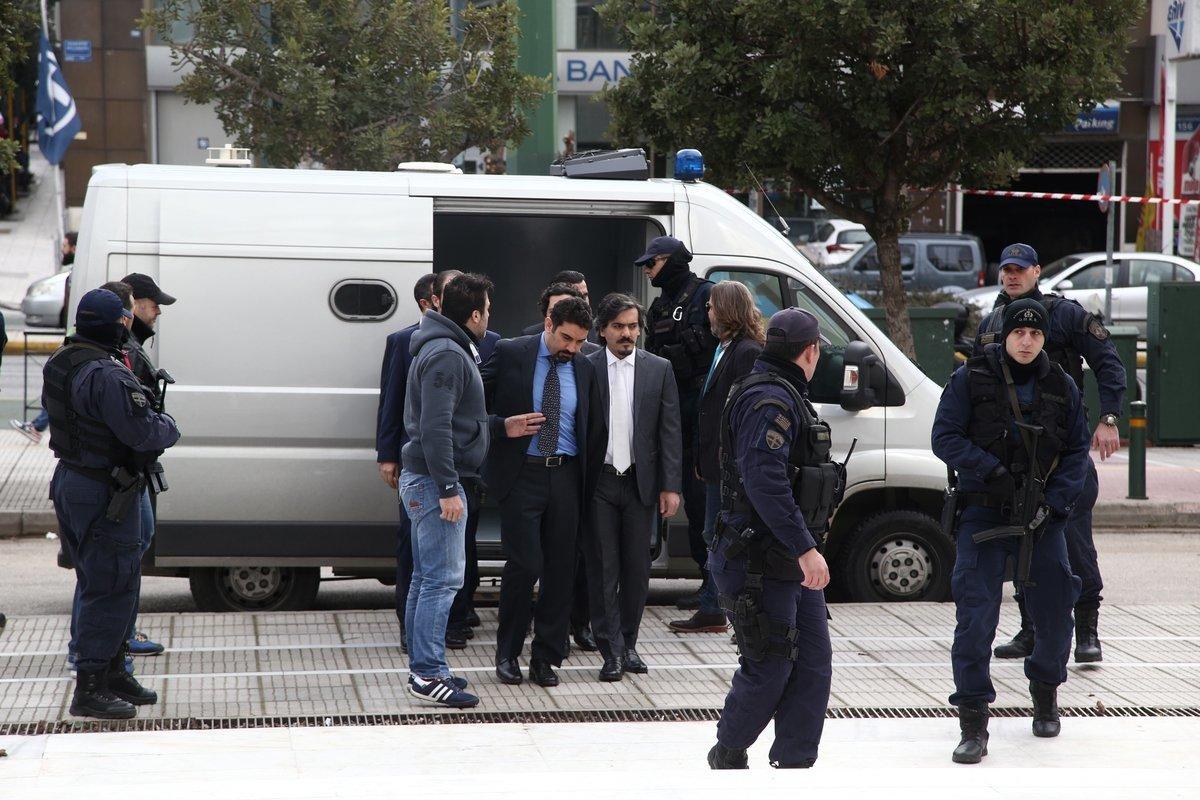Νέο αίτημα έκδοσης των «8» στρατιωτικών από την Άγκυρα μετά τη συνάντηση τουρκικής αντιπροσωπείας με τον Κοντονή