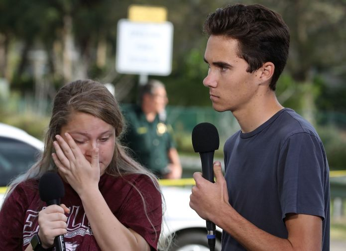 After Florida Shooting, The Teens Become The Strongest Voice For Gun Control After Florida Shooting, The Teens Become The Strongest Voice For Gun Control 5a85eaea1e0000dc007abd4c