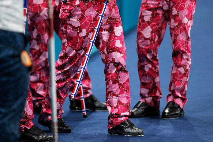 The Norwegian Curling Team Should Win Gold For Their Pants The Norwegian Curling Team Should Win Gold For Their Pants 5a86f2cd2000002d00eaf141