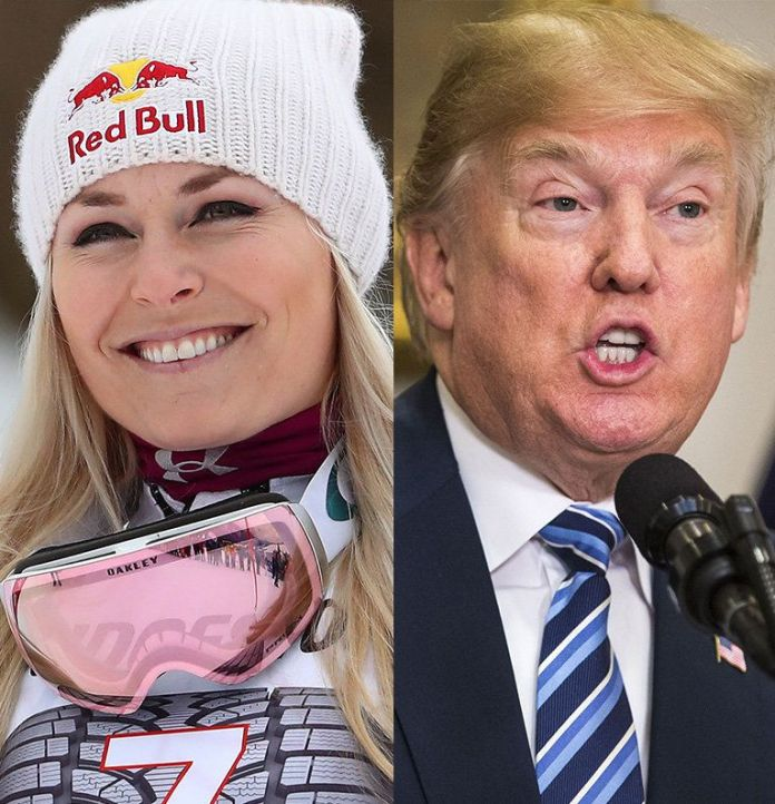 Lindsey Vonn Has A Message For Her Trump-Supporting Twitter Trolls Lindsey Vonn Has A Message For Her Trump-Supporting Twitter Trolls 5a881f212100003900601806