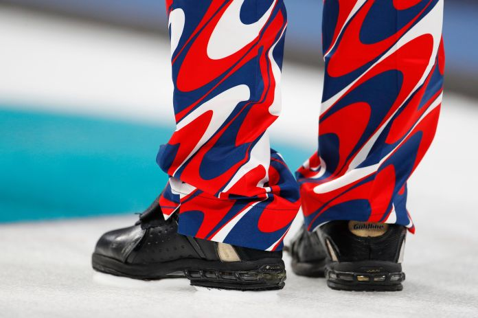 The Norwegian Curling Team Should Win Gold For Their Pants The Norwegian Curling Team Should Win Gold For Their Pants 5a8c40621e00002c007ac445