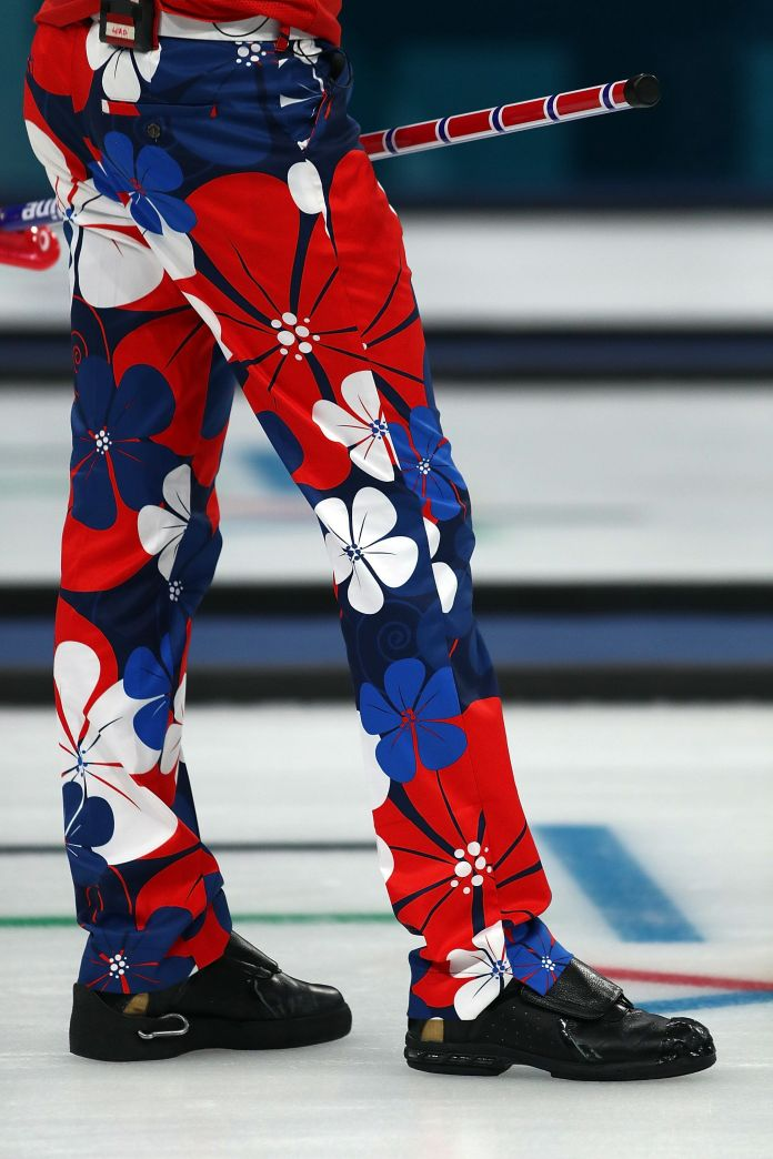 The Norwegian Curling Team Should Win Gold For Their Pants The Norwegian Curling Team Should Win Gold For Their Pants 5a8c40be1e000037007ac449