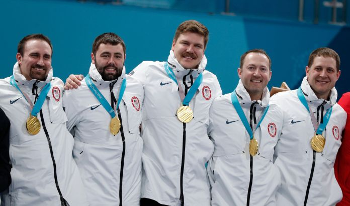 Olympics Snafu Sees U.S. Champion Curlers Receive The Wrong Medals Olympics Snafu Sees U.S. Champion Curlers Receive The Wrong Medals 5a915c65210000ed06602335