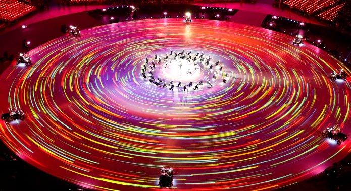Stunning Photos Capture The 2018 Olympics' Closing Ceremony In All Its Glory Stunning Photos Capture The 2018 Olympics' Closing Ceremony In All Its Glory 5a92c3dc1e000008087acbde