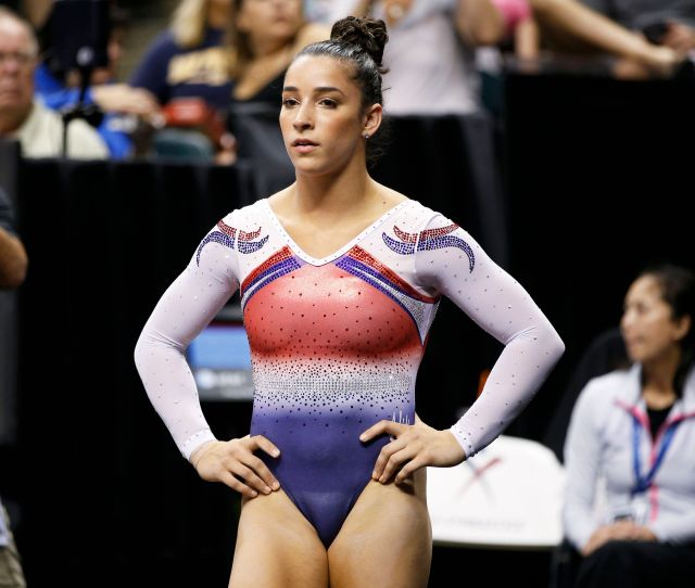 Aly Raisman Is Not Ok With Banning Gymnastics Leotards To Prevent Abuse Huffpost