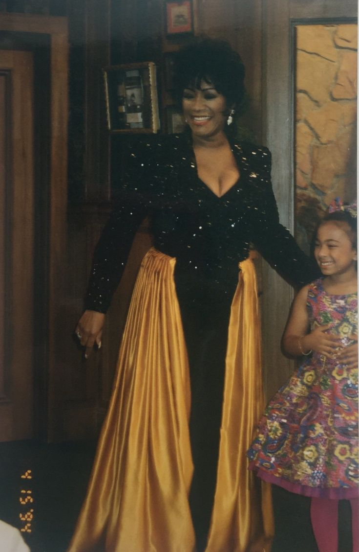 """""""This is one of my favorite guest star outfits. Disco Queen Patti LaBelle. I pieced and re-designed the outfit using four pie"""