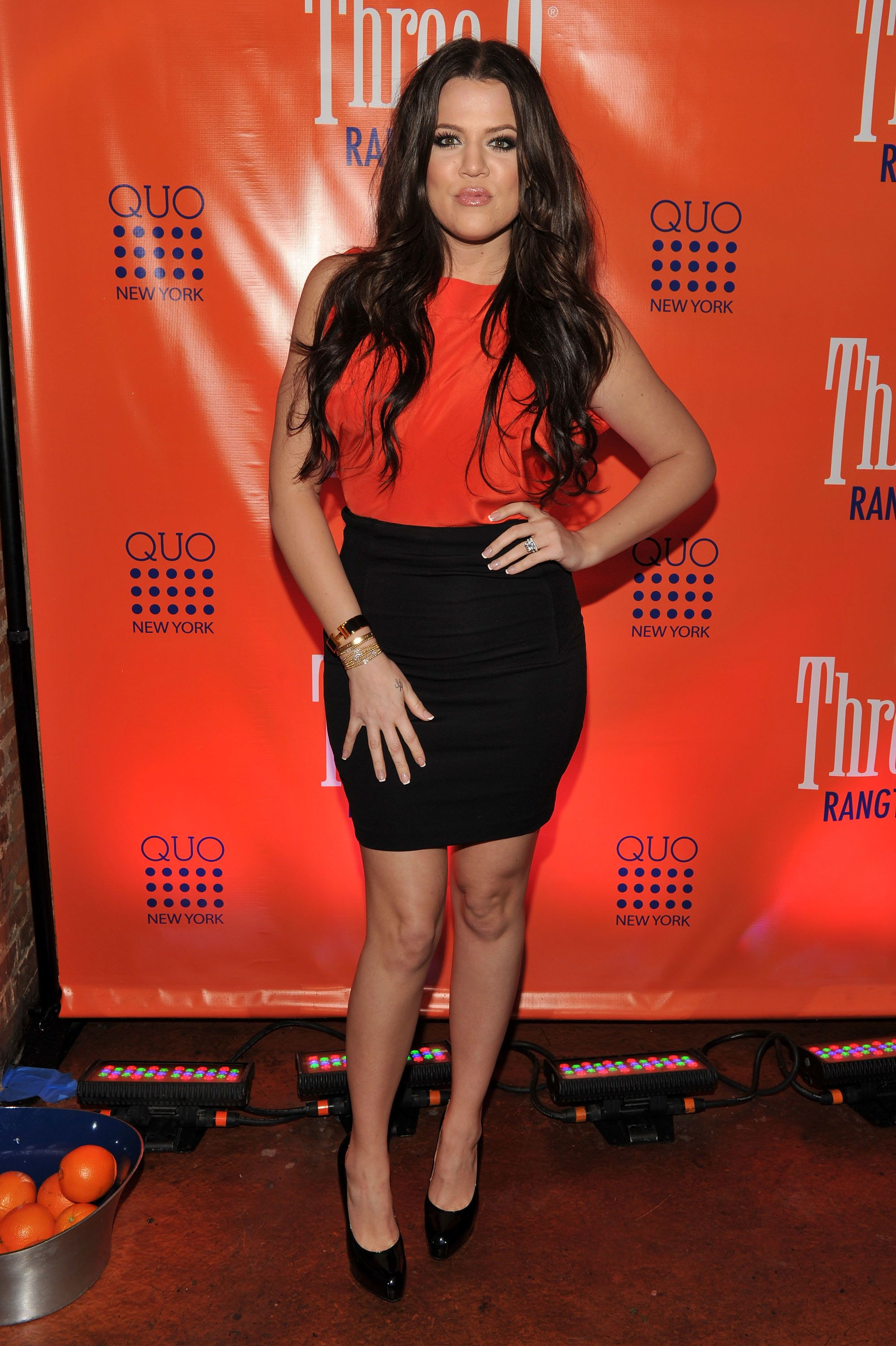 At Three-O Vodka's Rangtang launch party at Quo Nightclub in New York City.