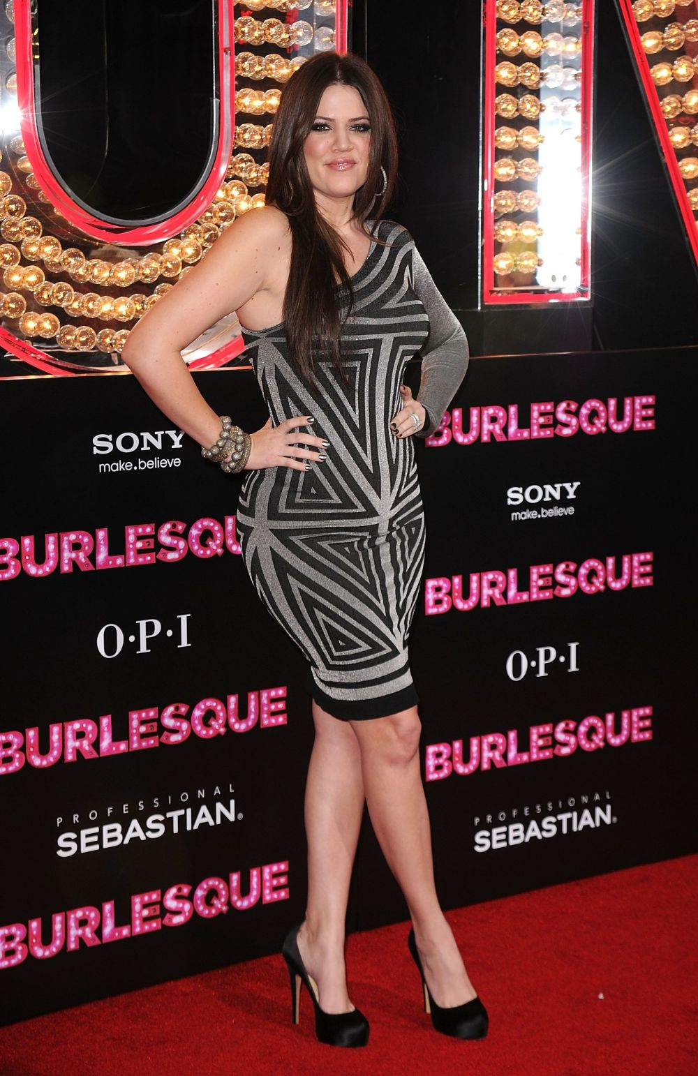 """At the premiere of Screen Gems' """"Burlesque"""" at Grauman's Chinese Theatre in Los Angeles."""