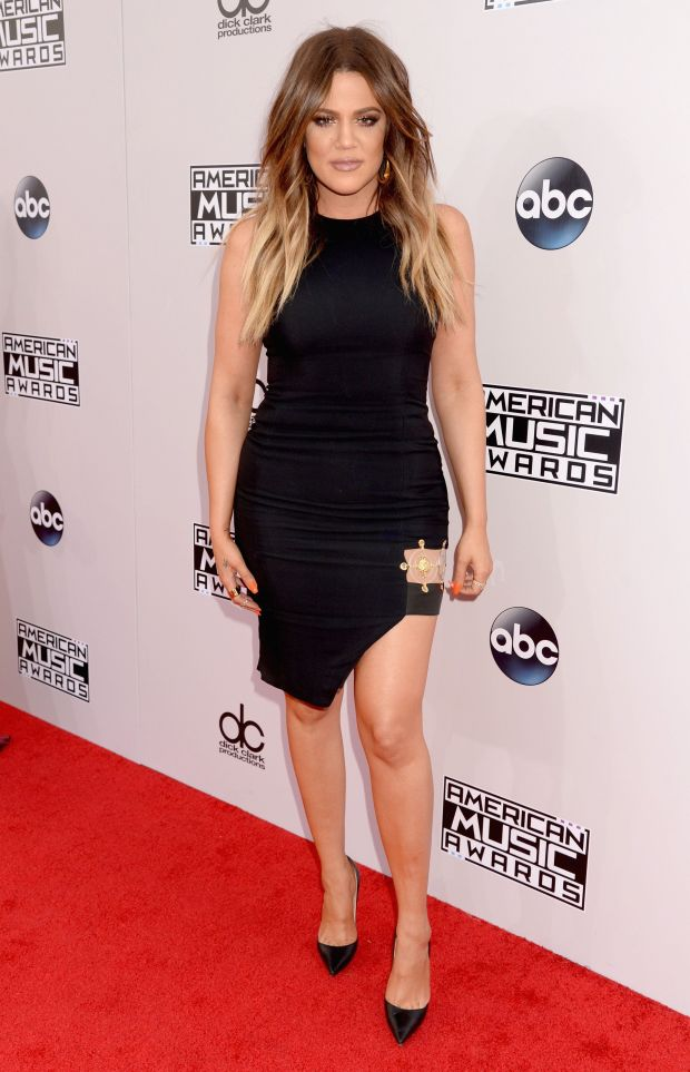 At the 2014 American Music Awards at Nokia Theatre L.A. Live in Los Angeles.