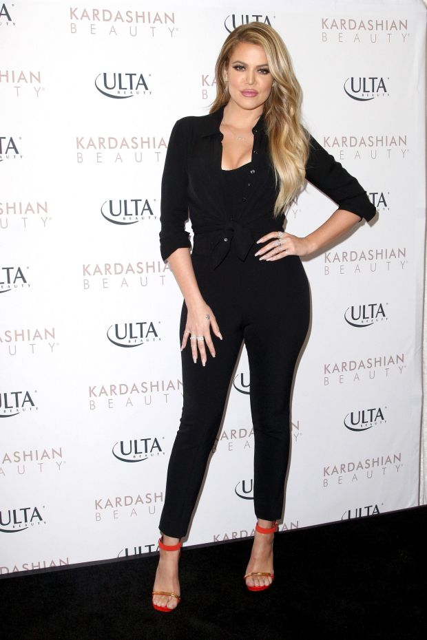 At Ulta Beauty's West Hills store promoting Kardashian Beauty Hair Care and styling line in West Hills, California.&nbsp