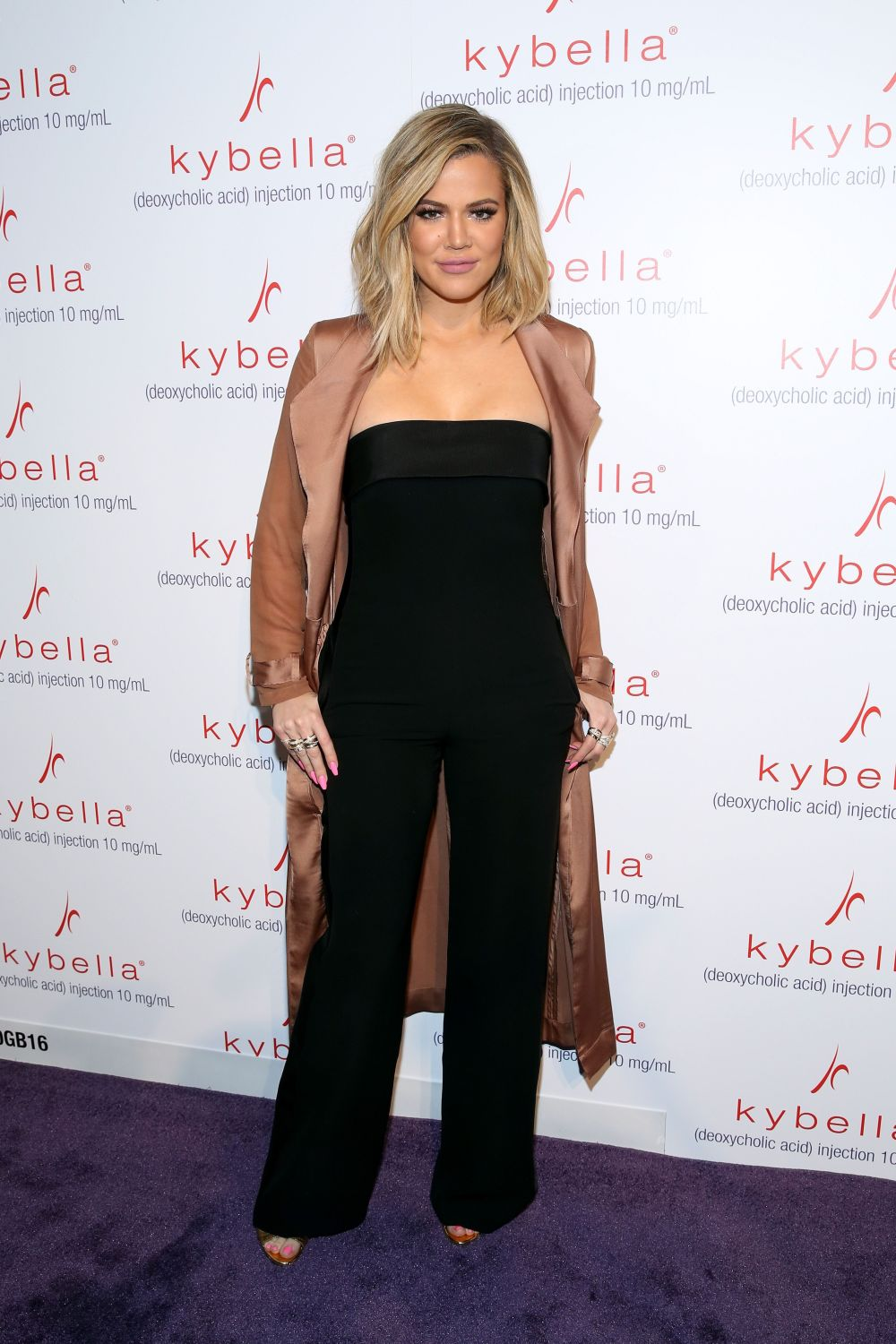At Allergan'sKybella event at IAC Building in New York City.