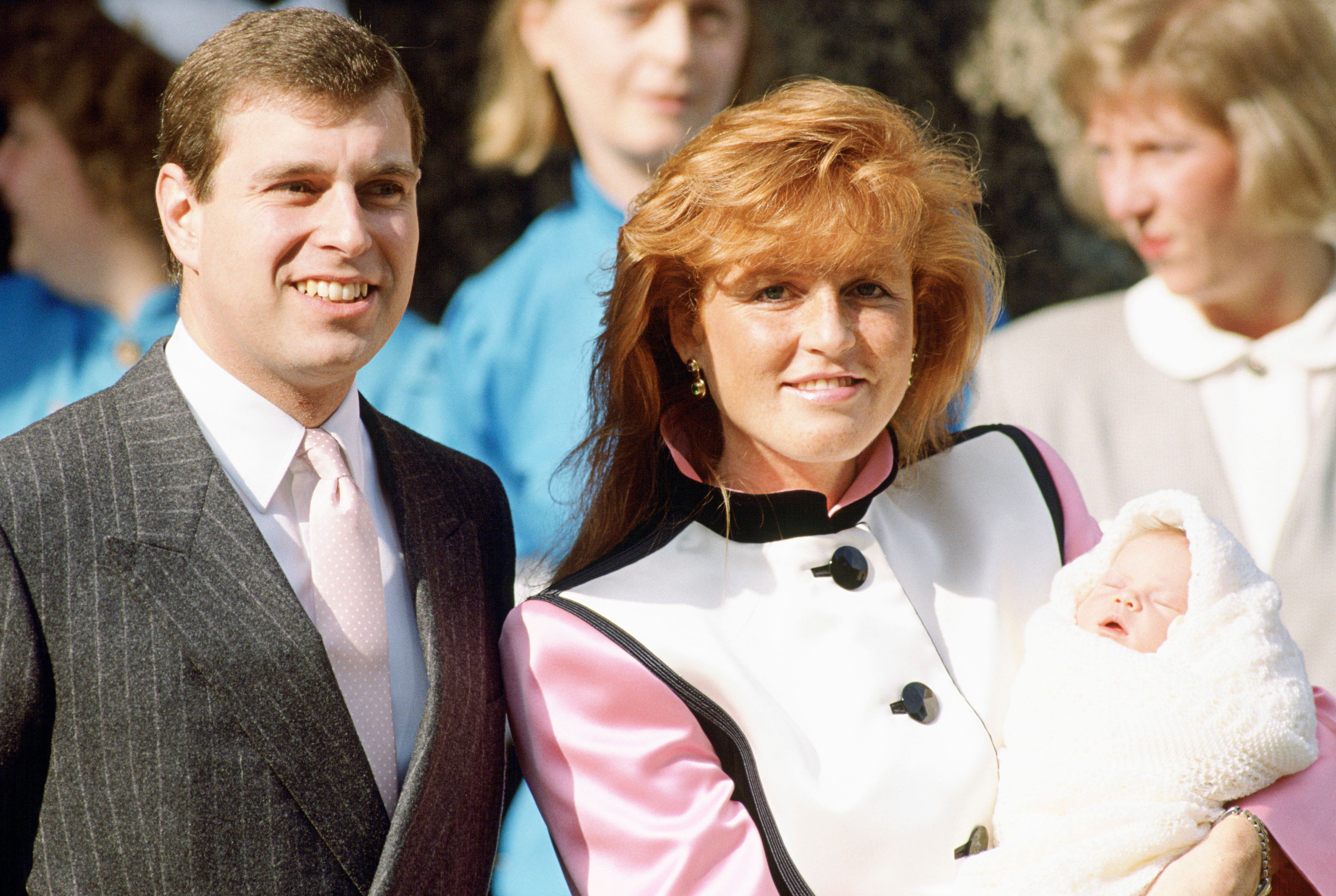 Andrew and Sarah welcomed their second daughter, Princess Eugenie, in 1990. The coupledivorced in 1996.