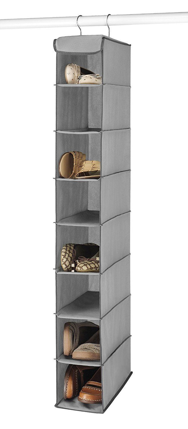 to store shoes in small spaces