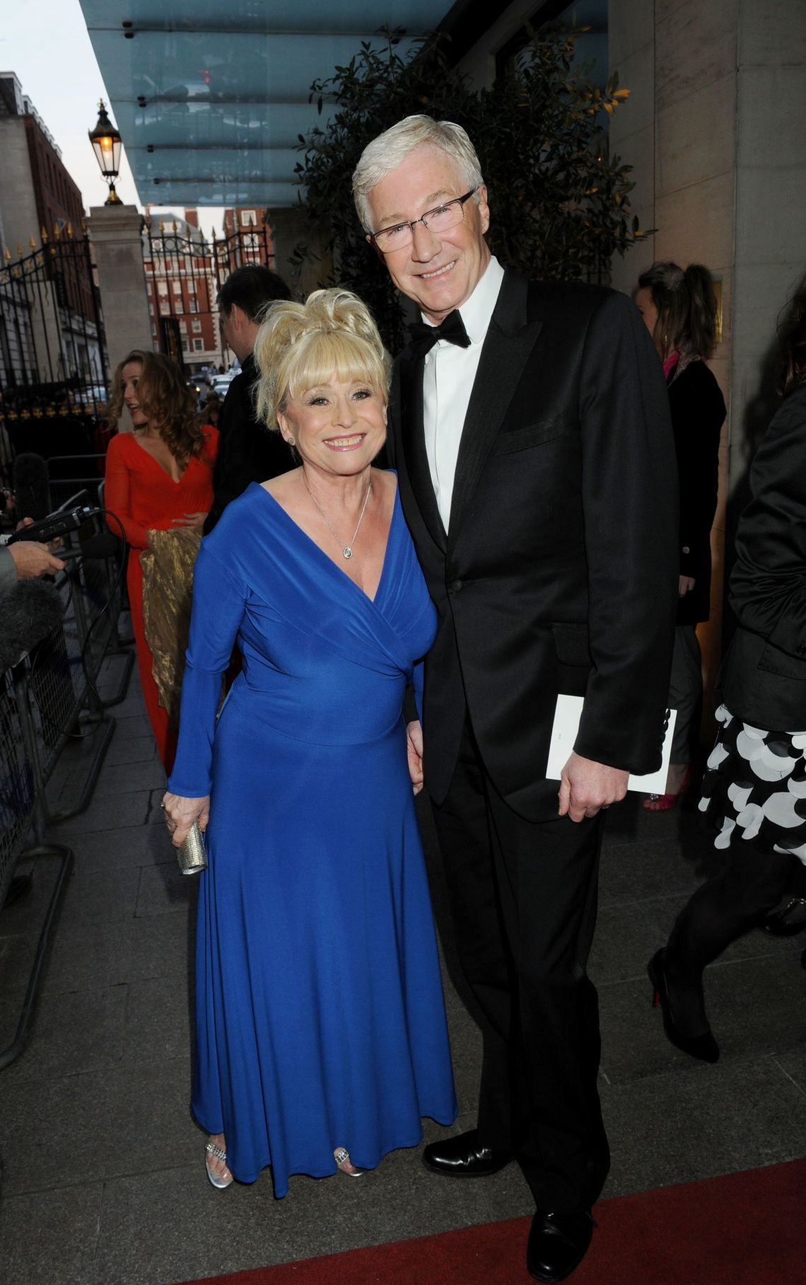 Dame Barbara Windsor and Paul O'Grady in 2010